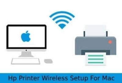 Setup HP deskjet 3050 Wirelessly on mac